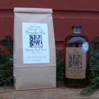 Maple syrup pint and pancake gift set